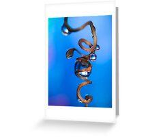 Twirl. Greeting Card