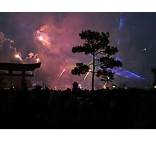 "New Year's Eve Fireworks in ""Japan"" Photographic Print"
