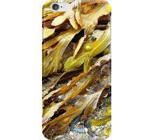 Seaweed On An Irish Beach iPhone Case/Skin