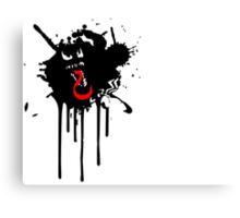 Venom Paint-Drip Canvas Print