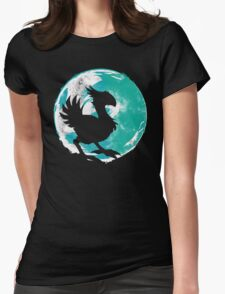 Wark at the Moon Womens Fitted T-Shirt
