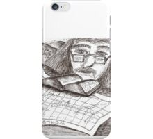 Cartographer dreaming iPhone Case/Skin