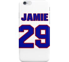 National football player Jamie Lawson jersey 29 iPhone Case/Skin