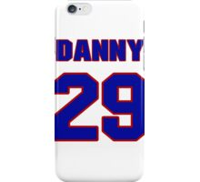 National football player Danny McCray jersey 29 iPhone Case/Skin
