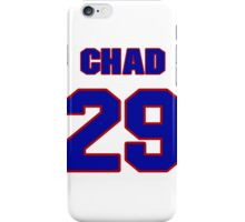 National football player Chad Morton jersey 29 iPhone Case/Skin