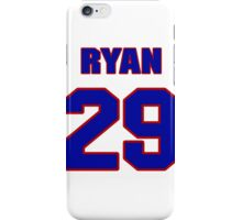 National football player Ryan Mouton jersey 29 iPhone Case/Skin