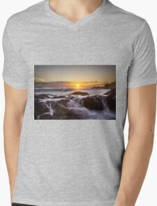 Flowing Fire... Mens V-Neck T-Shirt