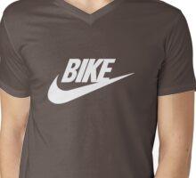 34 Swash2 Wht Mens V-Neck T-Shirt
