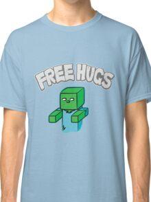"Minecraft Zombie | ""Free Hugs"" Classic T-Shirt"