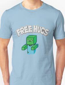 "Minecraft Zombie   ""Free Hugs"" Unisex T-Shirt"