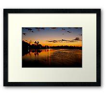 Bayou Moves Framed Print