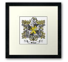 Williams Family Crest 2 Framed Print