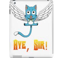 Aye, Sir! w/ text iPad Case/Skin