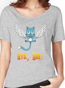 Aye, Sir! w/ text Women's Relaxed Fit T-Shirt