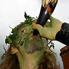 Spirit of the Green Man, Glastonbury Beltane 08 by Amanda Gazidis