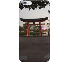 Good Morning Epcot iPhone Case/Skin