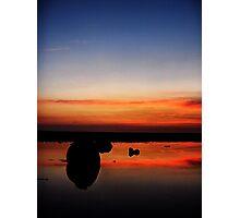 Rockpool Sunset Photographic Print