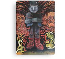 Watchman of Eternity - part 1 - Grauer Mann attacked by Baba Yaga Canvas Print