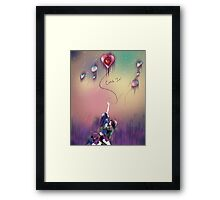 Catch It!  Framed Print
