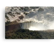 Victoria Falls from the Air 2 Metal Print
