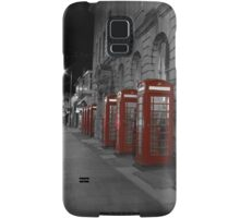 Red Phone Boxes Samsung Galaxy Case/Skin