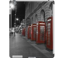 Red Phone Boxes iPad Case/Skin