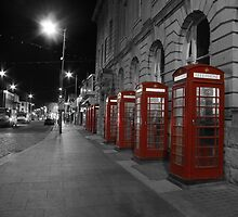 Red Phone Boxes by Gavin Stanfield