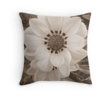 Sepia Serenity Throw Pillow