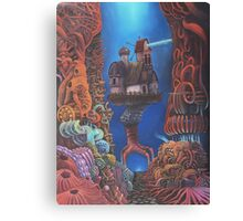Watchman of Eternity - part 2 - Baba Yaga nested inside the body of Grauer Mann Canvas Print