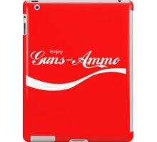 Enjoy Guns & Ammo? iPad Case/Skin