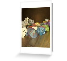 Holy Relics of the Gamer Greeting Card