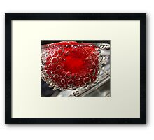 Take a sip.... Framed Print