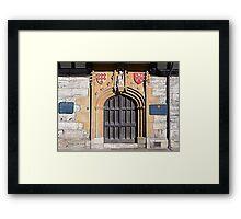 Saint Williams College Framed Print