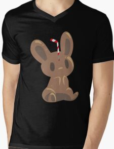Cola Bunny Mens V-Neck T-Shirt