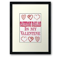 cd valentine Framed Print