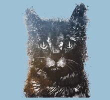 Gray cat Lucky Kids Clothes