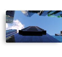 Scrape the Sky Canvas Print