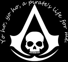 Assassin's Creed Black Flag meets Pirates of the Carribean by Gwen Olson