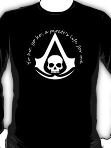 Assassin's Creed Black Flag meets Pirates of the Carribean T-Shirt