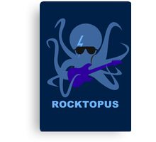 Rocktopus [BLUE] Canvas Print