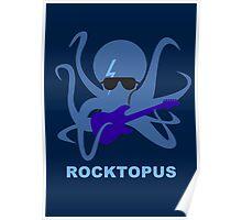 Rocktopus [BLUE] Poster