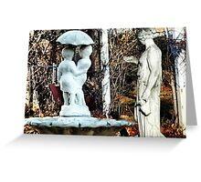 ~statuary~ Greeting Card