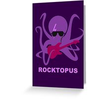 Rocktopus [PURPLE] Greeting Card