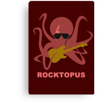Rocktopus [RED] Canvas Print