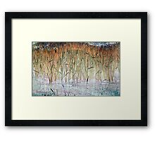 Whispy Willows 4-Available As Art Prints-Mugs,Cases,Duvets,T Shirts,Stickers,etc Framed Print