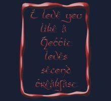 Valentine's Day #5 - Hobbit Love Kids Clothes