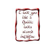 Valentine's Day #5 - Hobbit Love by pesdav