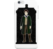 Eighth Doctor and The TARDIS iPhone Case/Skin