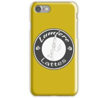 Lumiere Lattes iPhone Case/Skin