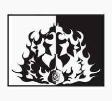 Skull Stars Fire by nizgoob